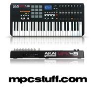 Akai MPK 49 MIDI Keyboard and MPC Pad Controller