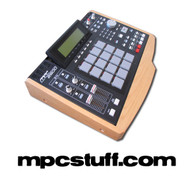 Akai MPC 2500 Wood Side Panel End Cap Kit (Light)