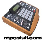 Akai MPC 2500 Wood Side Panel End Cap Kit (Dark)