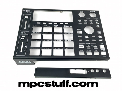 MPC 1000 Black Metal Casing Complete Kit - TOP