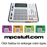 Akai MPC 1000 Color Faceplate Skin - Choose Color