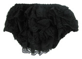 Black Lace Diaper Cover