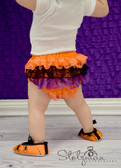 Lace Ruffle Diaper Cover Halloween