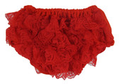 Red Lace Diaper Cover