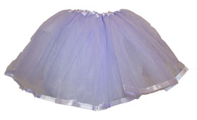 Lavender Ribbon Lined Dance Skirt