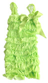 Wholesale Lime Green Lace Romper