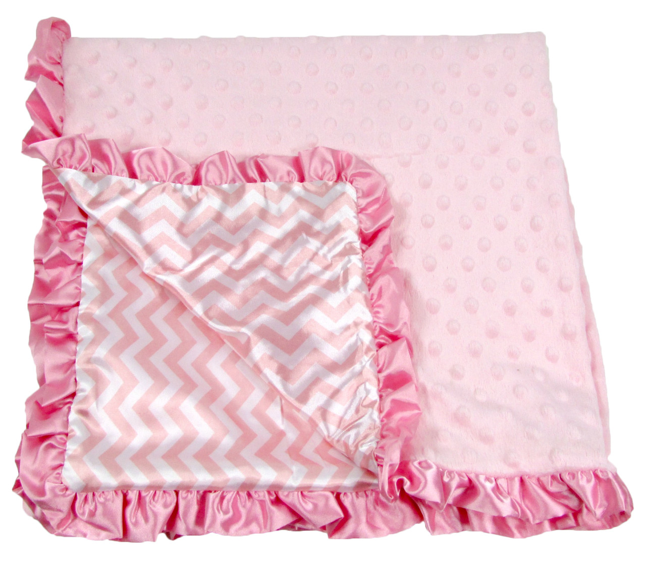 Baby Blankets Amp Accessories Cheap Pink Chevron Minky
