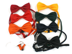Orange Boy's Bow Ties