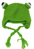 Frog Animal Crochet Hat