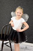 Animal Ribbon Lined Dance Tutu Black