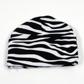 Zebra Cotton Beanies