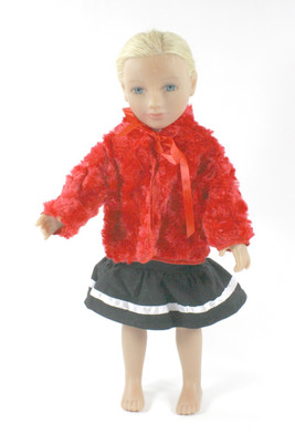 Red Doll Coat