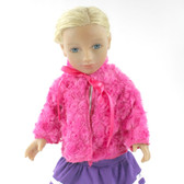 Hot Pink Doll Coat