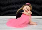 5 Layer Ballet Tutu Neon Hot Pink