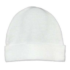 White Cotton Beanies