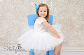 White 5 Layer Dance Tutu