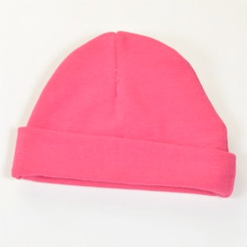 Hot Pink Cotton Beanies