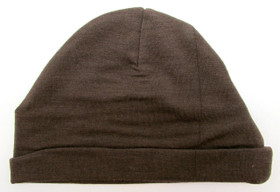 Brown Cotton Beanies