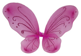 Dark Pink Butterfly Wings
