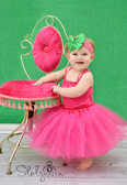 5 Layer Ballet Tutu Dark Pink