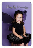 Pixie Wings Black