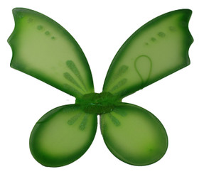 Lime Green Pixie Wings