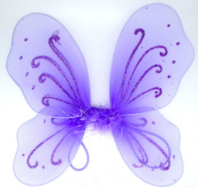 Lavender Baby Butterfly Wings