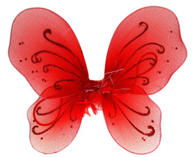 Red Baby Butterfly Wings