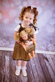 Leopard Black Pillowcase Dress (Doll Dress Sold Separately)