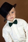Dark Green Bow Ties