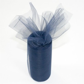 Navy Blue Tulle