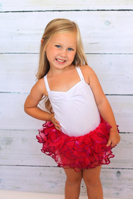 Hot Pink Sequin Dance Tutu