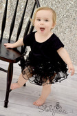 Sequin Dance Tutu Black
