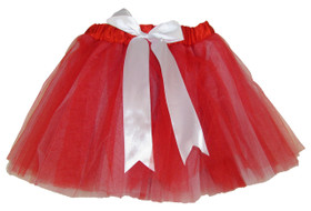 Red White 5 Layer Two-Toned Dance Tutu