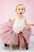 Brown and Pink 5 Layer Two-Toned Dance Tutu