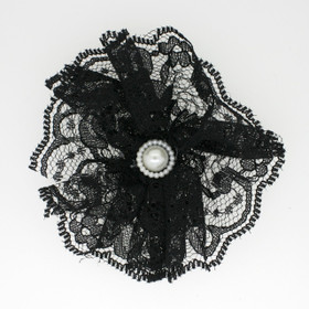 Black Lace Flowers