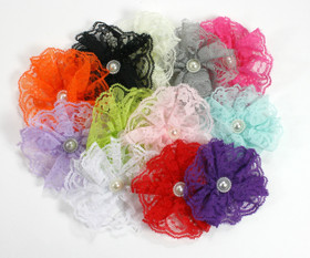 Assorted Lace Flowers