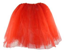 Red Teen and Adult Tutu