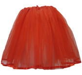 Red Older Girl Ribbon Lined Tutu