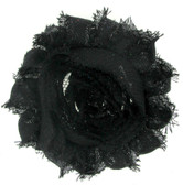 Black Shabby Flowers
