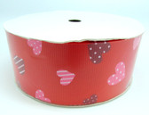 Red Valentine's Day Grosgrain