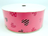 Hot Pink Valentine's Day Grosgrain