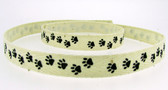Animal Paw Grosgrain Ribbon