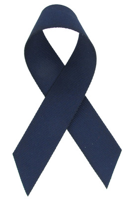Navy Blue Grosgrain Ribbon
