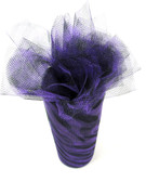 Purple Zebra Tulle