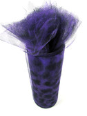 Purple Cheetah Tulle