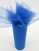 Royal Blue Glitter Tulle