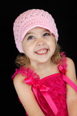 Light Pink Newsboy Hat