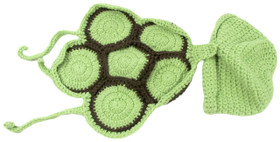 Green Turtle Baby Animal Hat