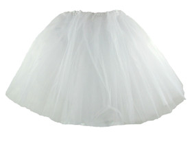White Teen and Adult Tutu